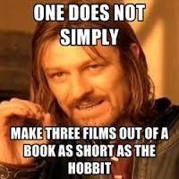 Hobbit Memes – Michelle Markey Butler
