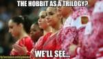 Skeptical Gymnast meme